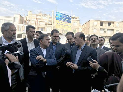 جزئیات سه پروژه بازآفرینی استان کردستان در جریان بازدید وزیر راه و شهرسازی و دبیر ستاد ملی بازآفرینی شهری پایدار