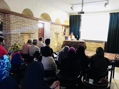 """بیست و چهارمین برنامه """"خانه گفتمان شهر گرگان"""" برگزار شد/ سخنی با خیام"""